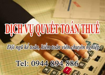 Dịch vụ quyết toán thuế uy tín, chuyên nghiệp nhất Hà Nội