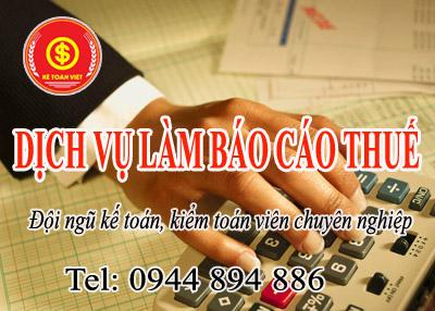 Dịch vụ kê khai thuế hàng tháng giá rẻ uy tín tại Hà Nội