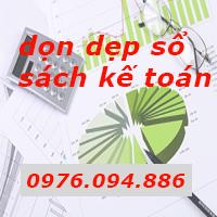 Dịch vụ dọn dẹp sổ sách kế toán chuyên nghiệp giá rẻ tại Hà Nội